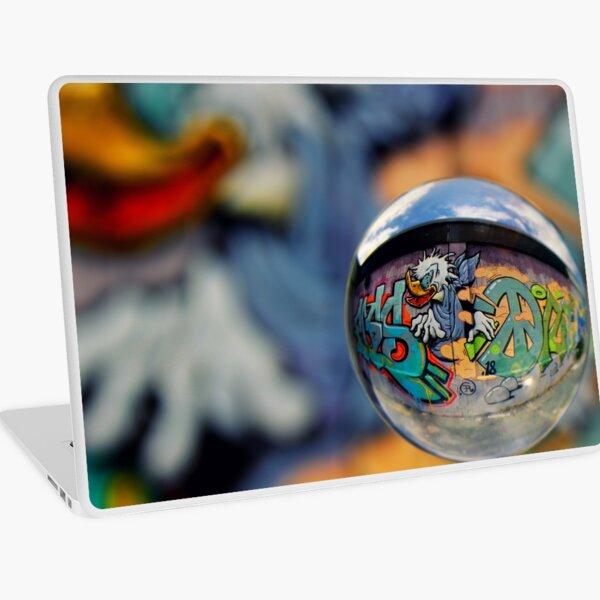 Graffiti Ball 1 Laptop Skin