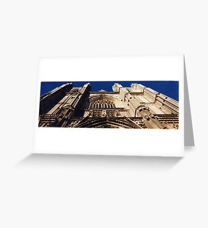 Cathedral (Nantes, France) Greeting Card
