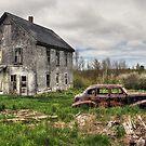 The Old Pontiac III by Amanda White