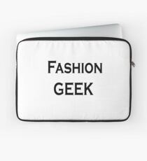 Fashion geek Laptop Sleeve