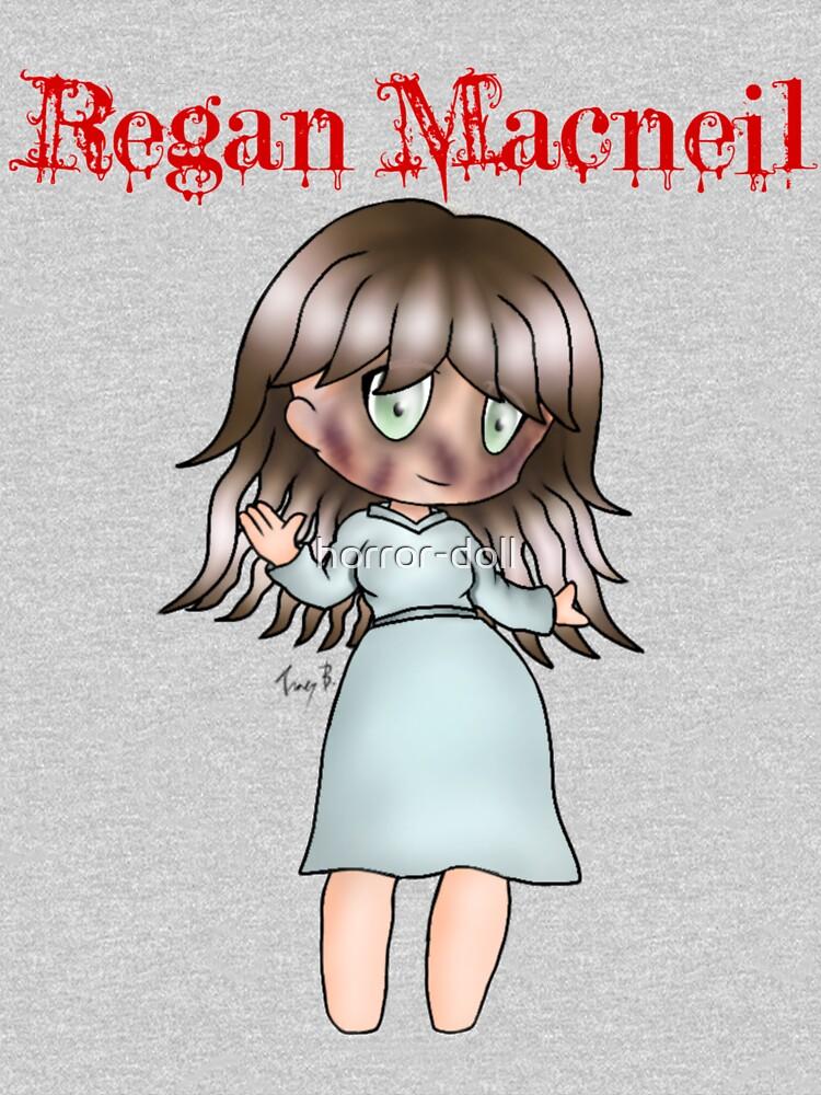 Regan Macneil by horror-doll
