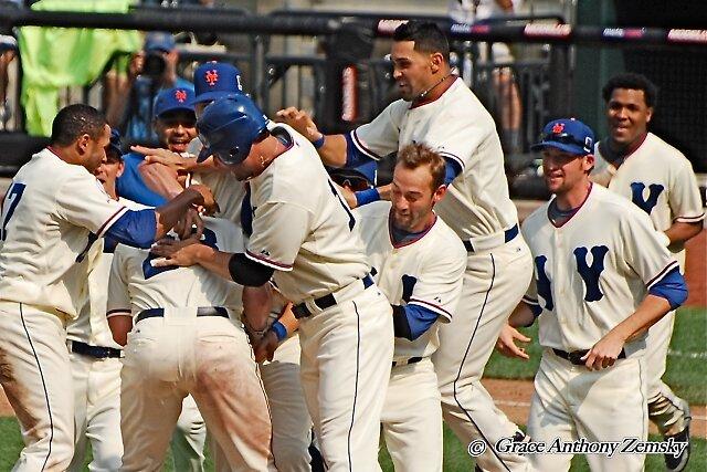 Mets Win! by Grace Anthony Zemsky