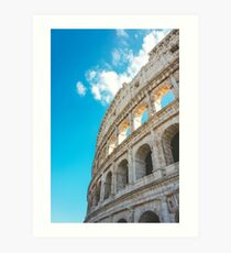 The Colosseum, Rome, Italy Art Print