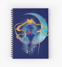 pretty guardian of the universe Spiral Notebook
