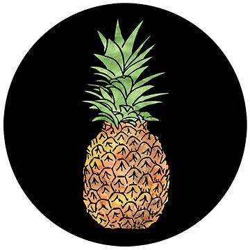 Pineapple by picadillyprints