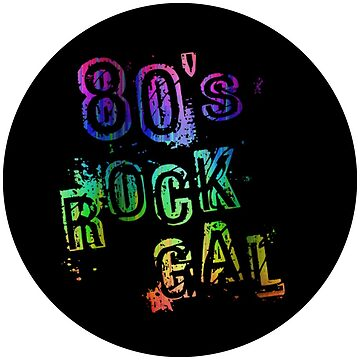 80s Rock Gal by picadillyprints