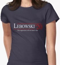 Lebowski 2020 Women's Fitted T-Shirt