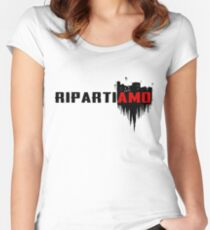 Ripartiamo Women's Fitted Scoop T-Shirt