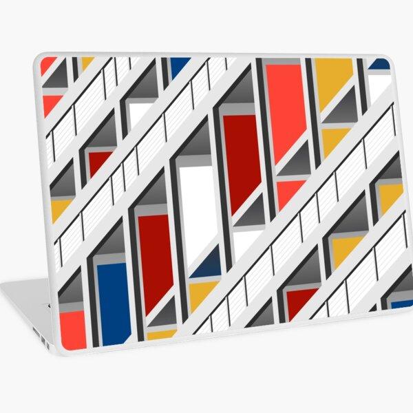 Architecture illustration le corbusier Laptop Skin