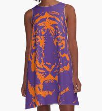 Royal Tiger Gameday Dress | Clemson Purple A-Line Dress