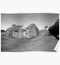 Rural county Clare cottage (Clare) Poster