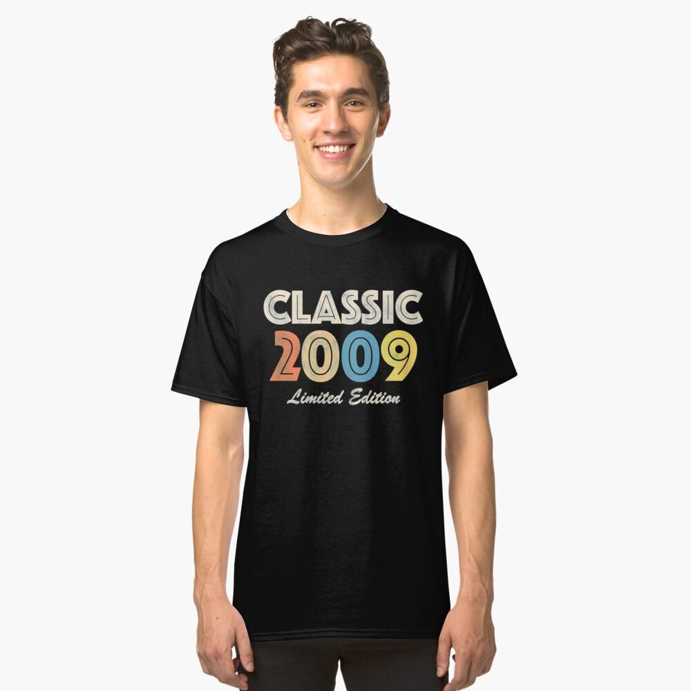 2009 Birthday Vintage Retro Classic T-Shirt Front