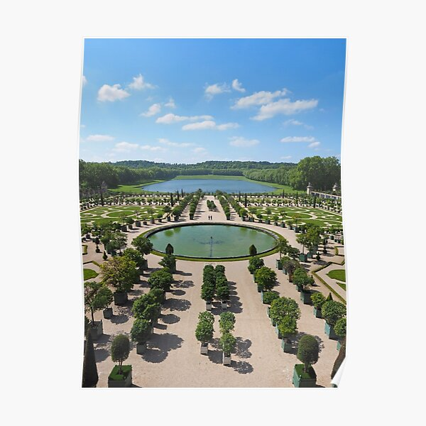 The Orangerie at Versailles Poster