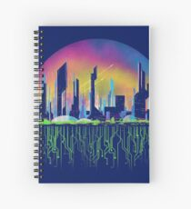 City of tomorrow Spiral Notebook