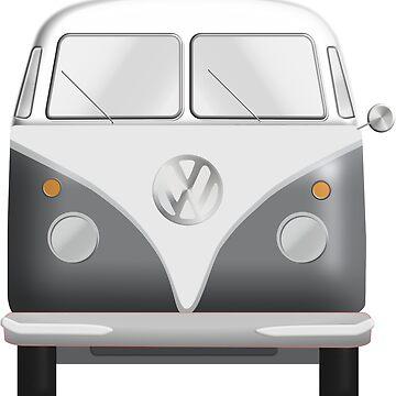 VW Bus / Camper Van by Planet71