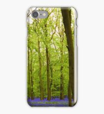 Amazing Bluebell Wood - Panorama iPhone Case/Skin