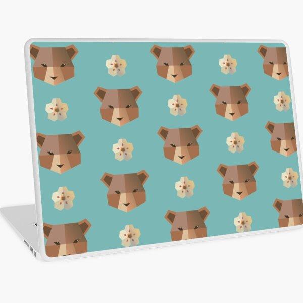 Pardo Bear Pattern Laptop Skin