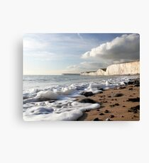 A Light Froth Canvas Print