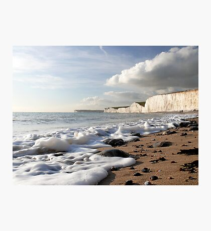 A Light Froth Photographic Print