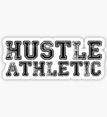 Hustle Athletic Sticker
