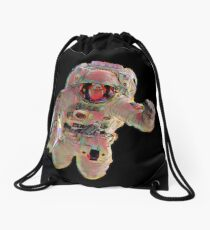 Astronaut Drawstring Bag