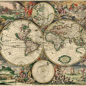World Map 1689 by wasabi67