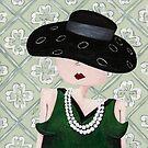 Girl with Pearls by Carmen de Bruijn