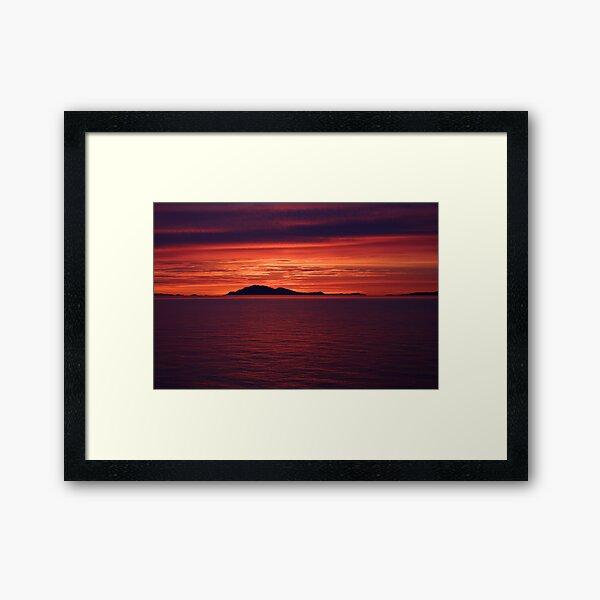Last Moments Framed Art Print