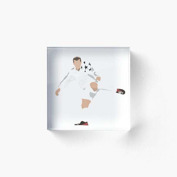 Zidane Bloc acrylique