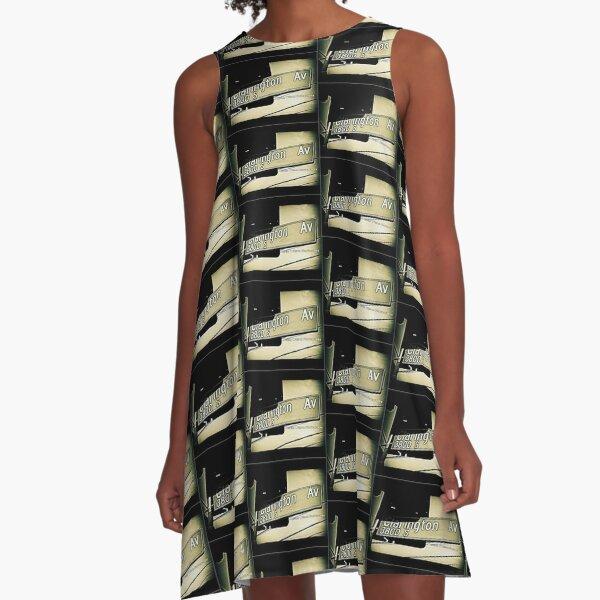 Clarington Avenue, Culver City, California by Mistah Wilson A-Line Dress