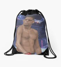 Nate Diaz - Digital Illustration Drawstring Bag