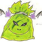 Green Baddie Bag by BrokenBleedingAngel