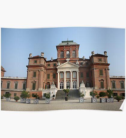 Racconigi Castle Poster