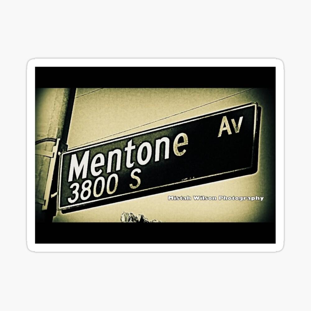 South Mentone Avenue1 Culver City California by Mistah Wilson Photography Sticker