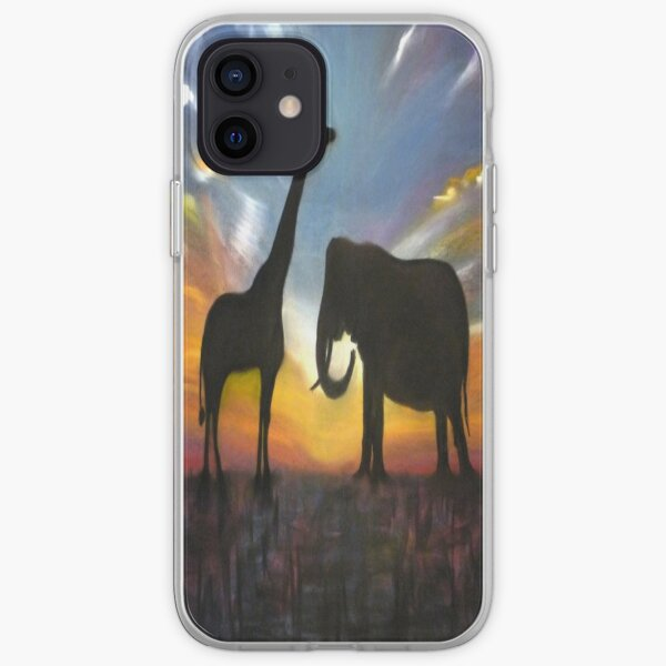 Sunset Meeting iPhone Soft Case