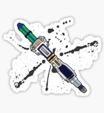 12th Doctor Sonic Screwdriver Sticker