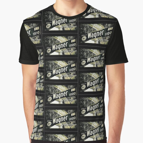 Wagner Street1 Culver City California by Mistah Wilson Photography Graphic T-Shirt