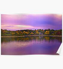 Brookline Reservoir park 2 Poster