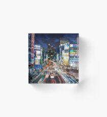 Tokyo traffic Acrylic Block