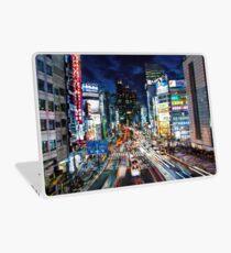Tokyo traffic Laptop Skin
