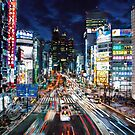 Tokyo traffic by philosophizer