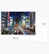 Tokyo traffic Postcards