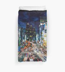 Tokyo traffic Duvet Cover