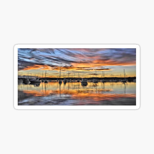 Vivid Sunset - Valentine NSW Australia Sticker