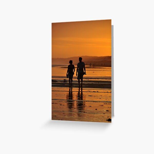 Come Walk With Me - Redhead Beach NSW Greeting Card