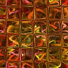 Varigated Autumn Leaves Abstract by MaeBelle