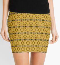 Gold Leaf Mini Skirt