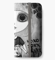 Number One Fan (Black & White Version) iPhone Wallet/Case/Skin