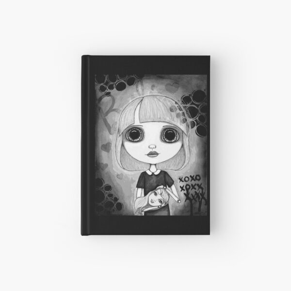 Number One Fan (Black & White Version) Hardcover Journal