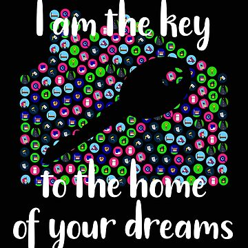Realtor I Am the Key to the Home Of Your Dreams Real Estate Agent by stacyanne324